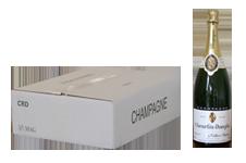 photo caisse 3 magnums de champagne cheurlin dangin
